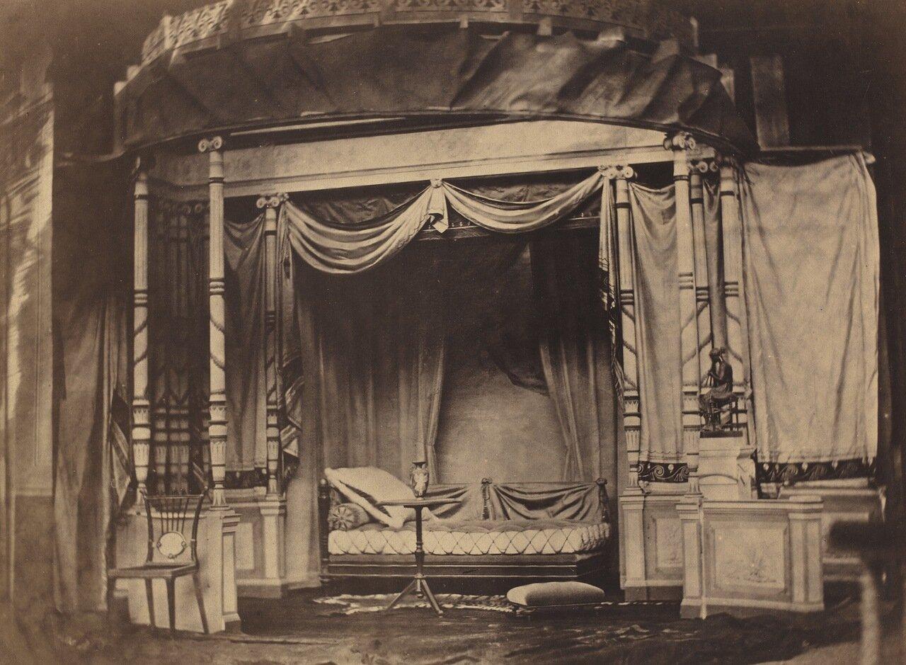 1855. Образец спальной комнаты с Всемирной Парижской выставки