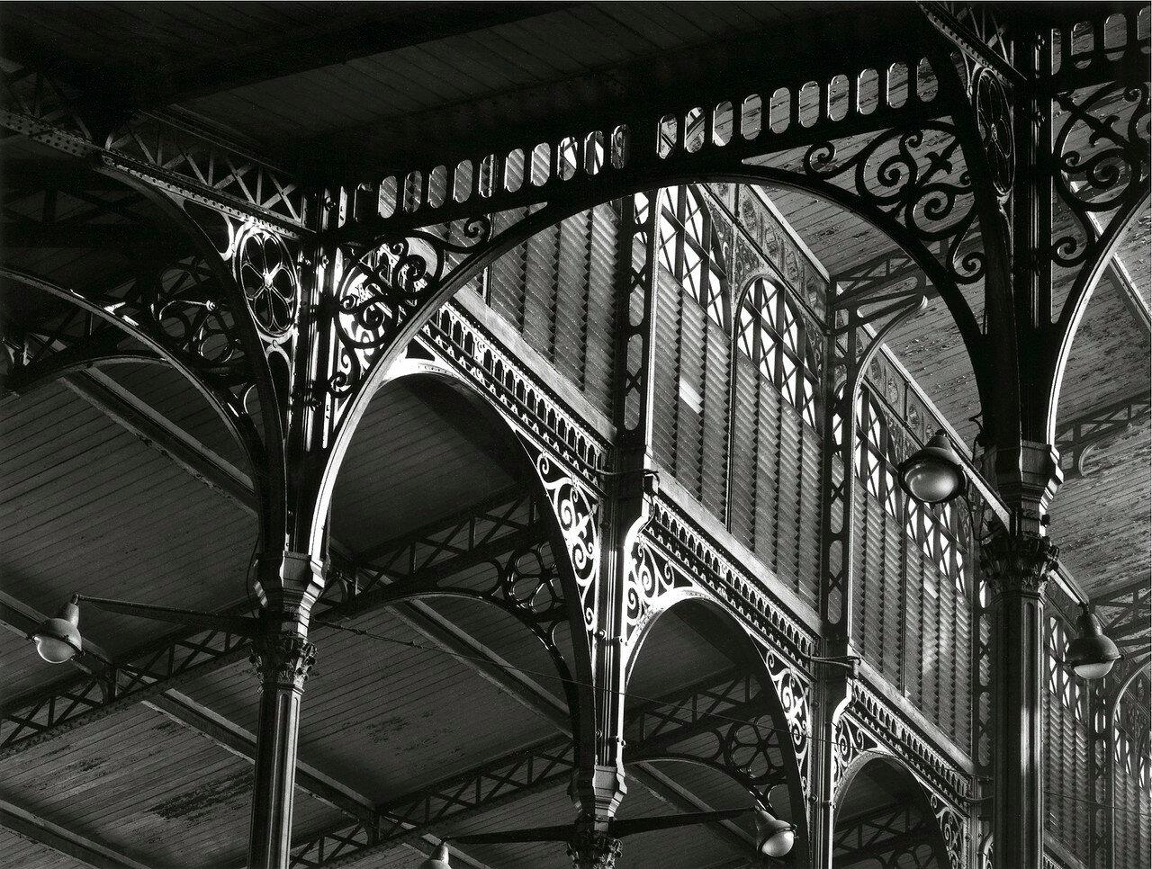 1969. Бальтаровская  металлическая конструкция павильона в Ле-Аль