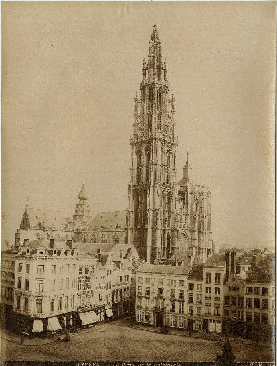 1870-е.  Башня собора