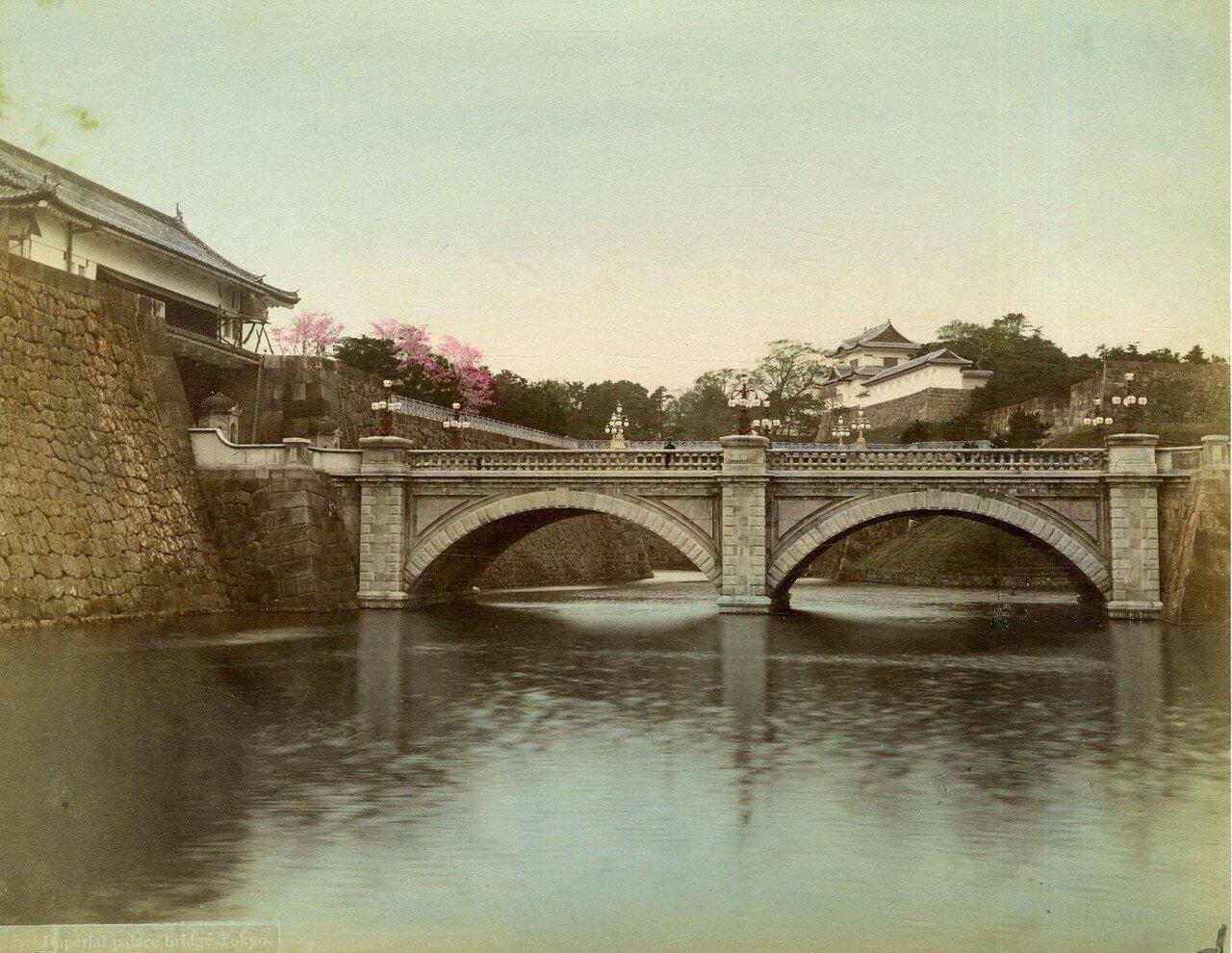 Токио. Мост в императорском дворце