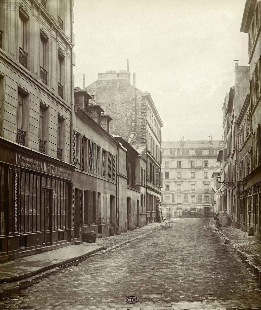 Рю Сент-Элизабет. 1866