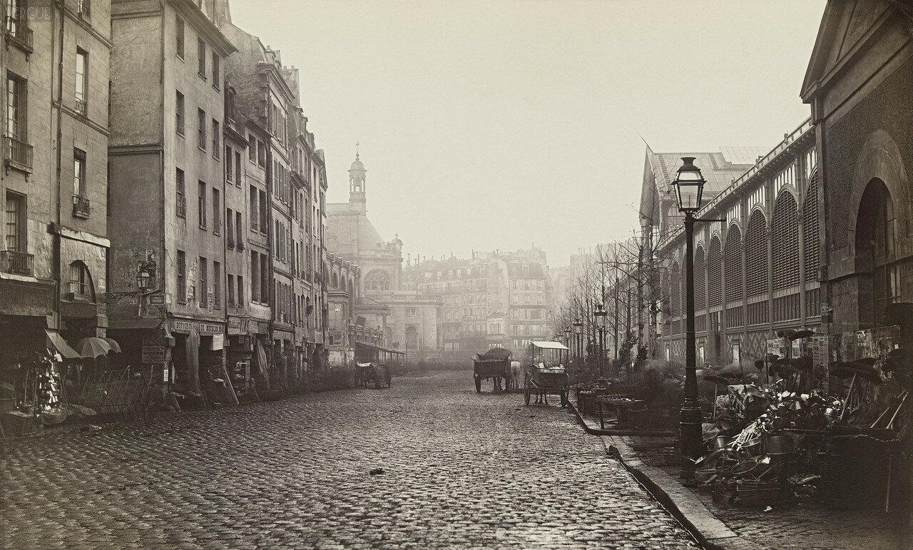Рю де Тонельри. 1865