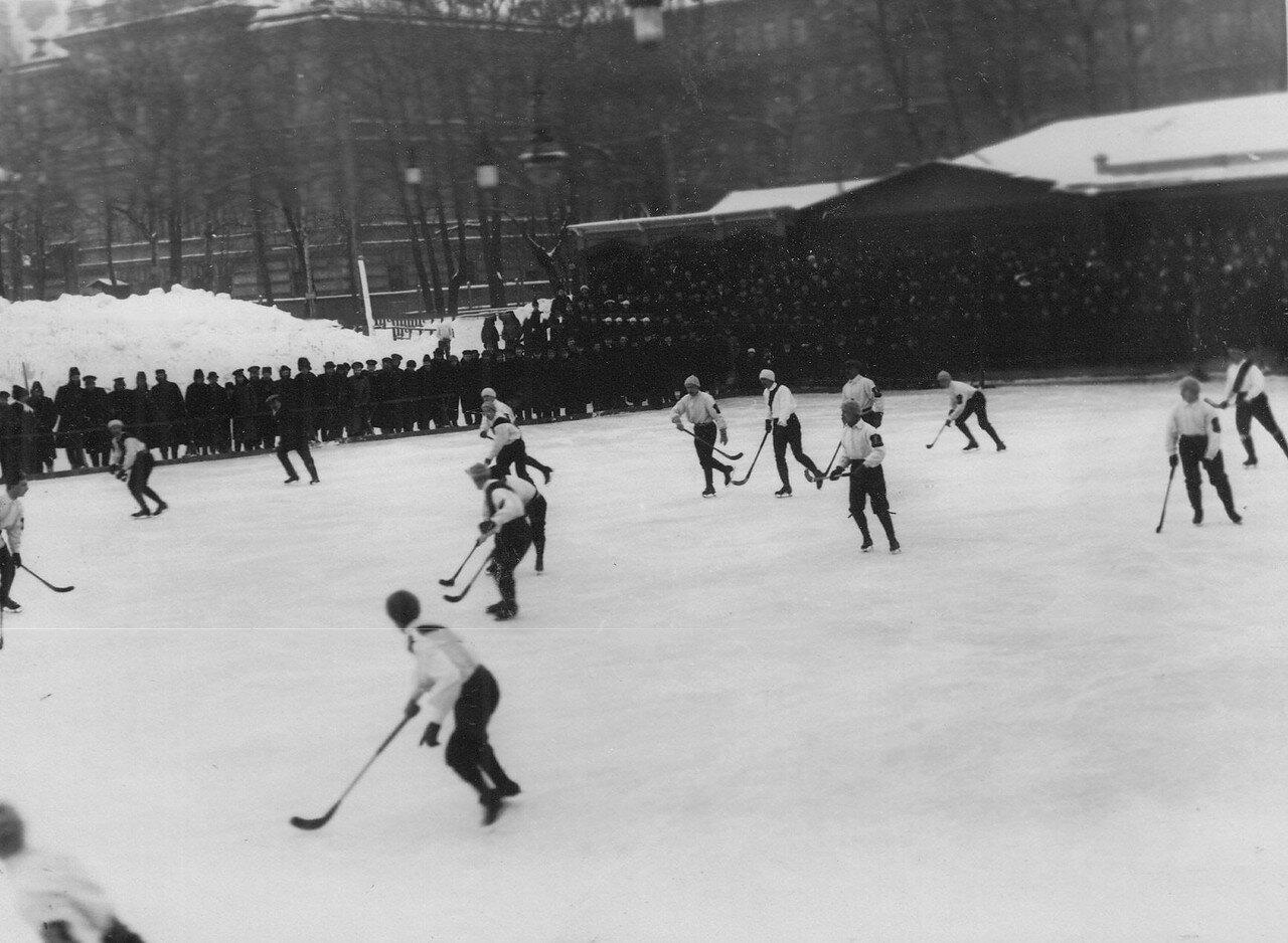 15. Состязания хоккеистов в Юсуповом саду. 17 февраля 1913