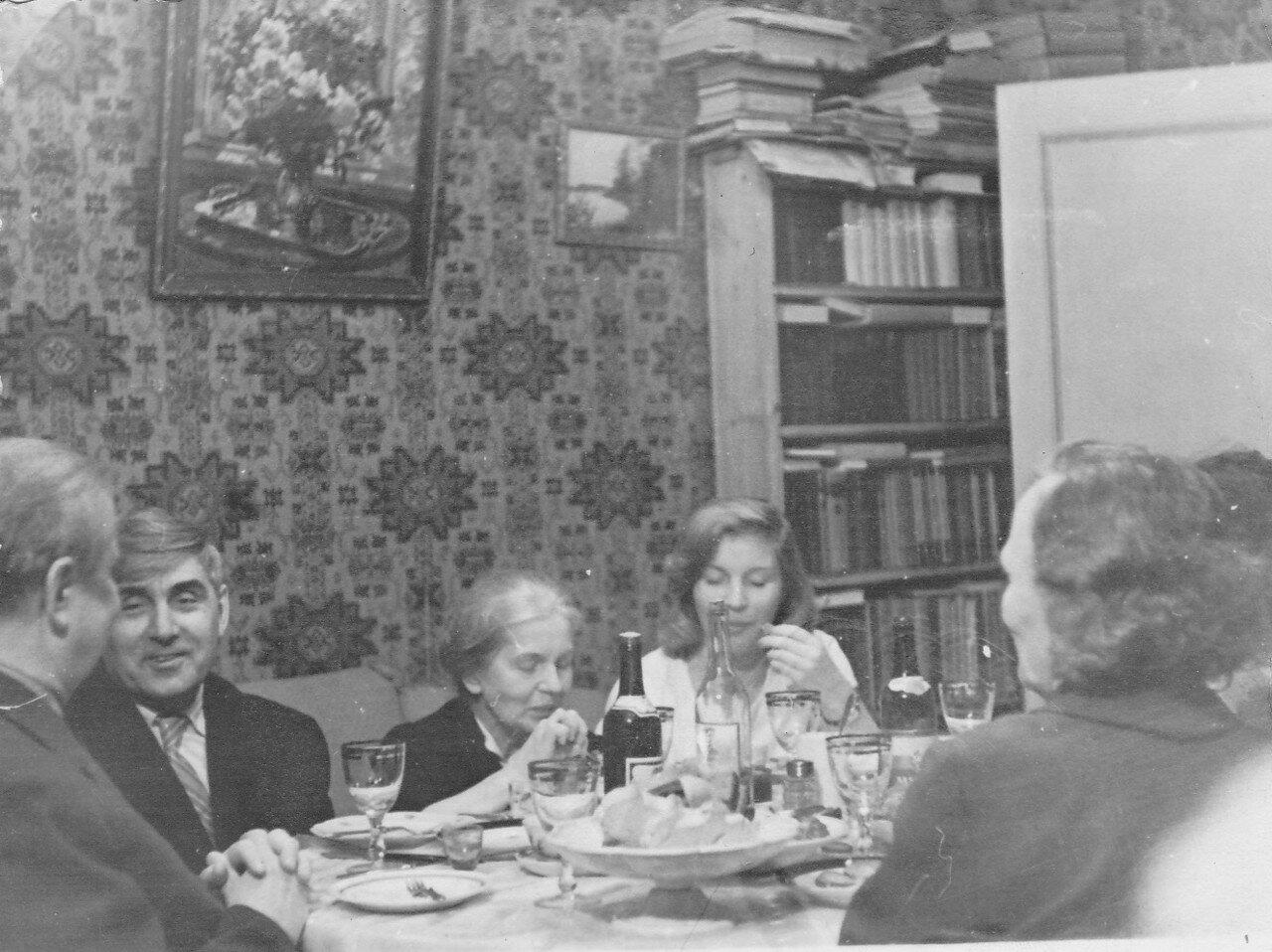 1960-е. Московское застолье