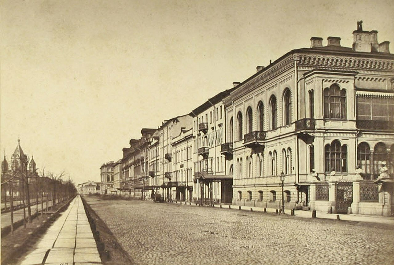25. Конногвардейская улица в Санк-Петербурге. 1870-е