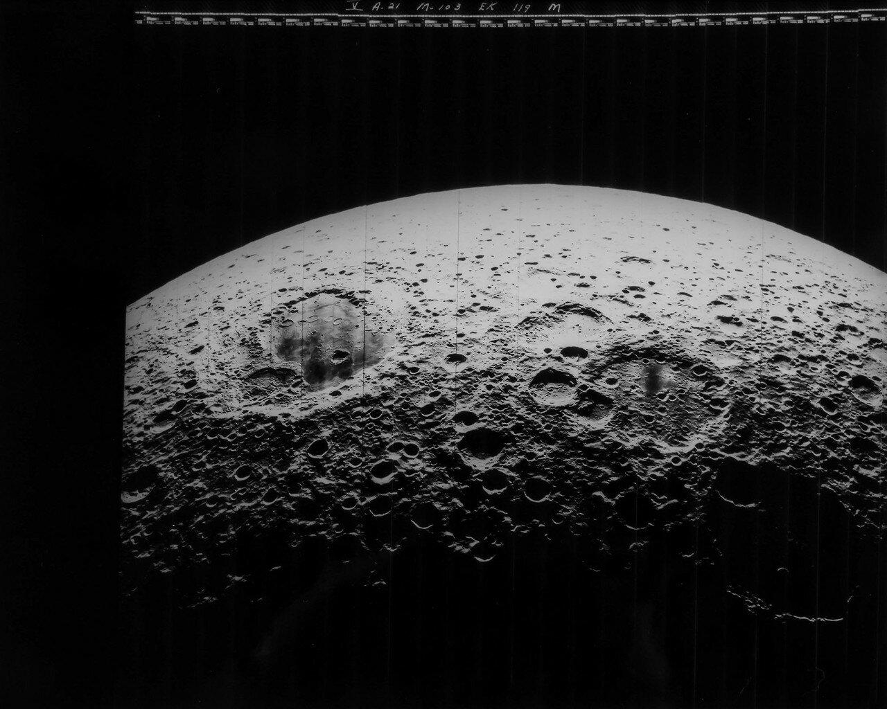 1967.«Лунар орбитер-5» был запущен 1 августа 1967 года с мыса Канаверел. Одной из целей полёта КА «Лунар орбитер-5» была съёмка  кратеров Альфонс, Аристарх, Гиппарх, фотографирование участка обратной стороны Луны пропущенной предыдущими аппаратами