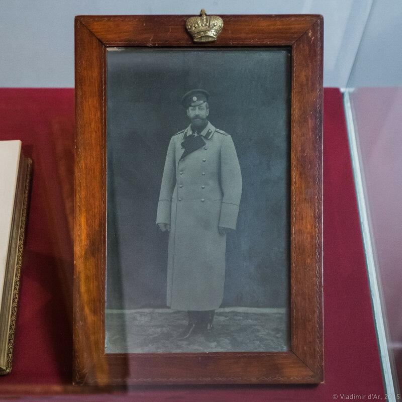 Портрет Великого князя Константина Константиновича. 1890-е гг. Фотография.