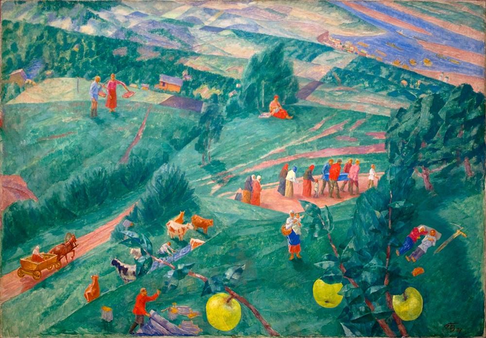Петров-Водкин, Полдень (1917) (3266 пикс.)
