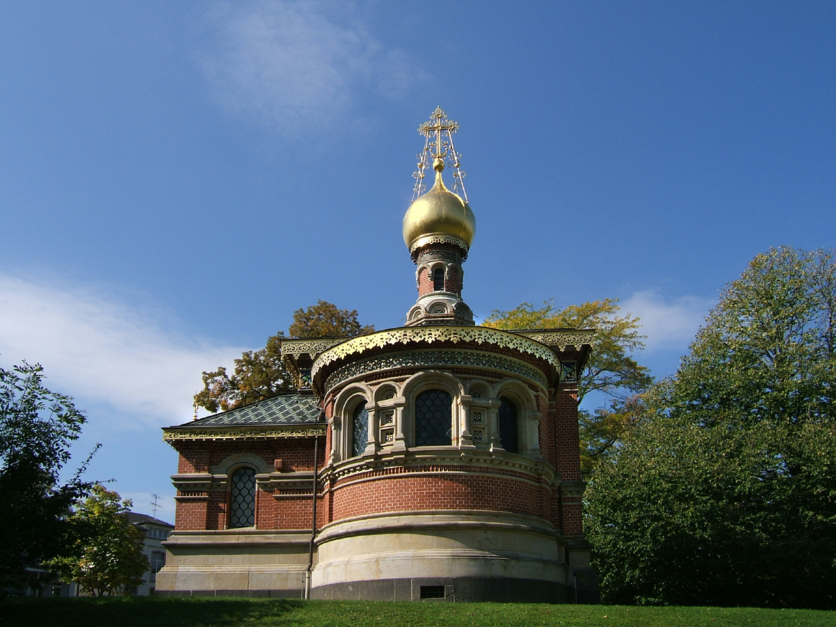 Bad Homburg Russische Kapelle . Церковь Всех Святых (Бад-Хомбург)_2, Автор Л.Н. Бенуа
