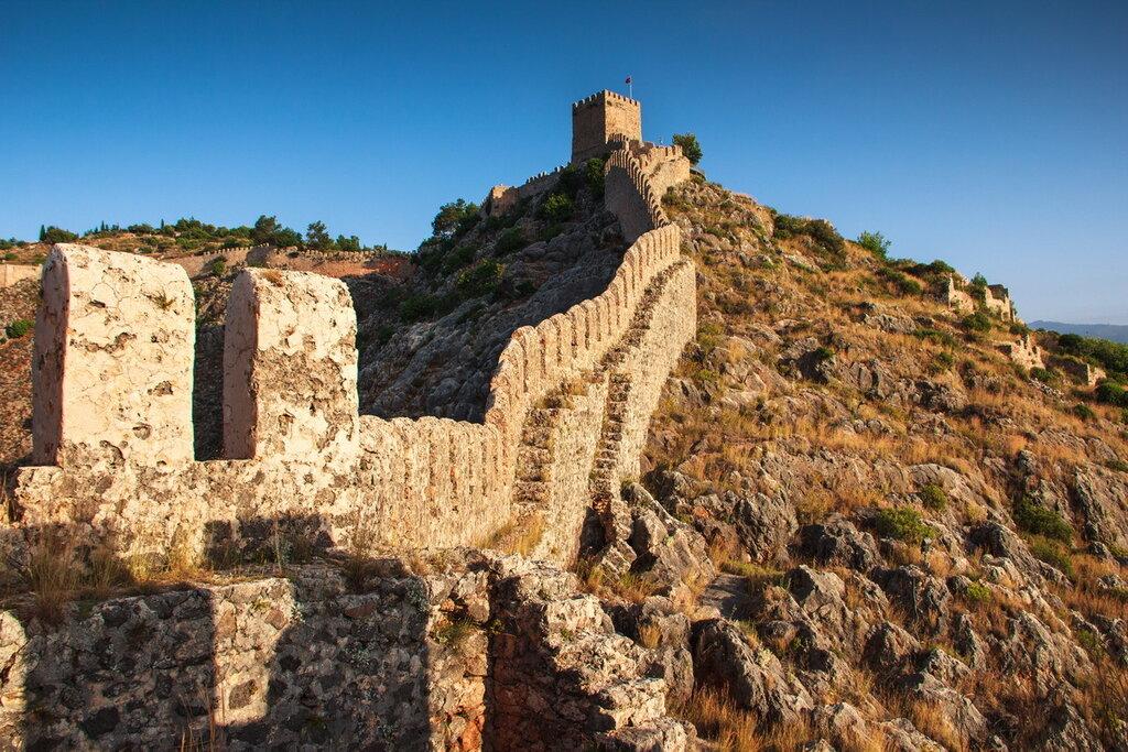 Крепость в Аланье