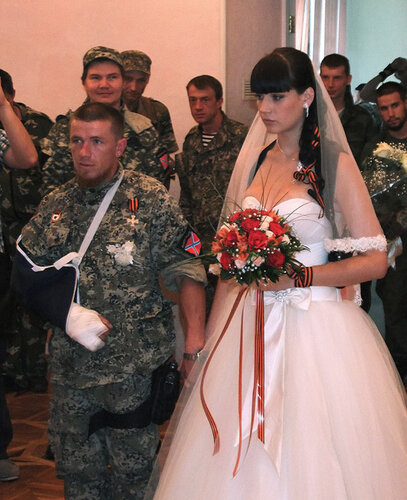 В Донецке зарегистрирован брак опо