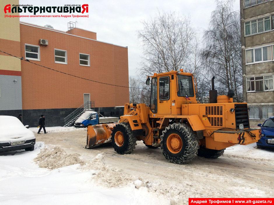 Три опроса на тему уборки снега в Сергиевом Посаде