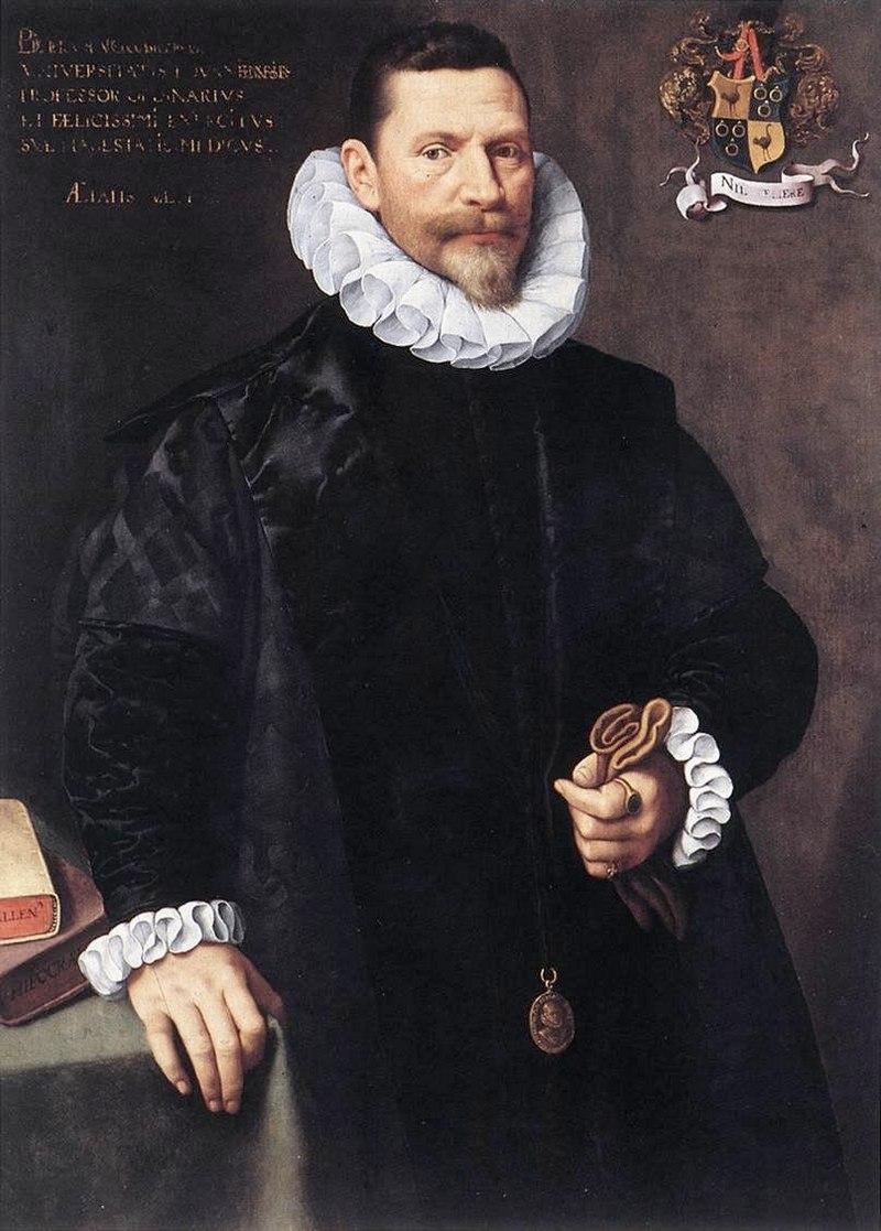 "Франс Порбус Младший. ""Портрет Питера Порбуса"" 1592"