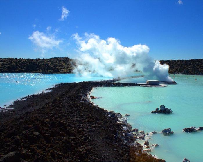 Красивые фотографии: Голубая лагуна, Исландия (Blue Lagoon, Iceland)