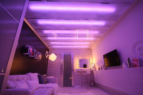 Светодиодное освещение в интерьере