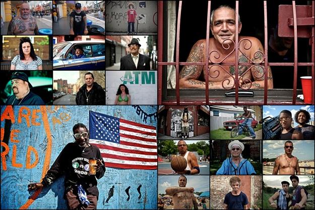 Фотографии жителей Бруклина, Нью-Йорк, США