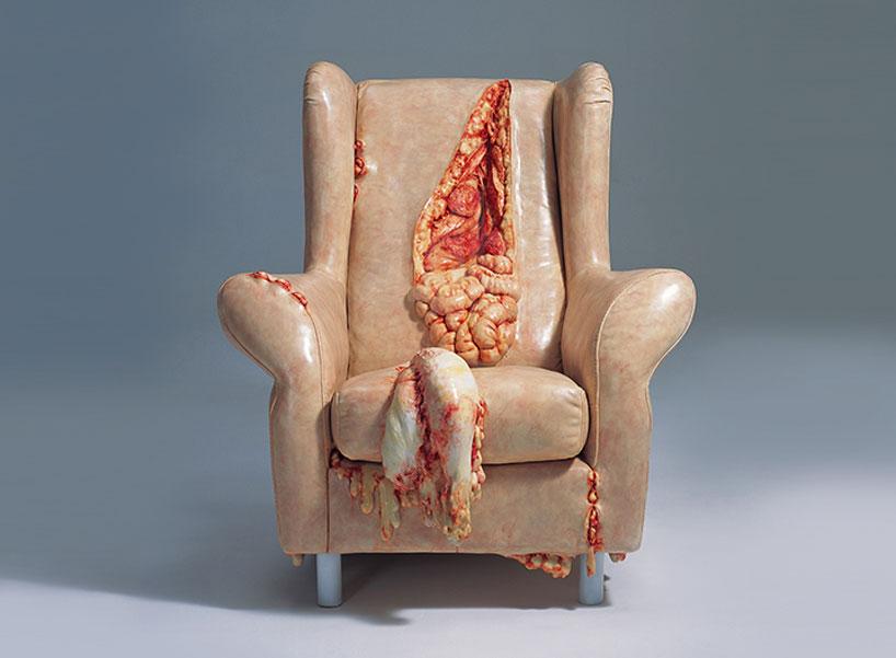 Выпотрошенное кресло
