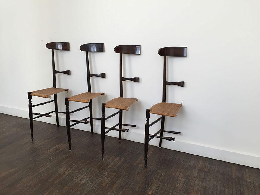 6. «Эти стулья — прекрасная арт-инсталляция».