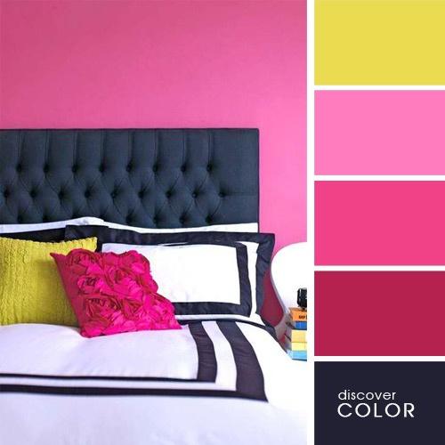 Отличные сочетания цветов в интерьере (21 фото)