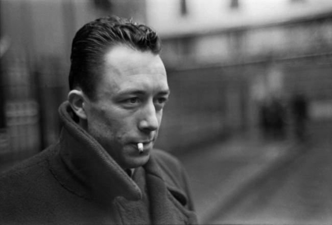 Портрет Альбера Камю, Париж, 1944