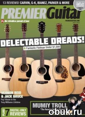 Книга Premier Guitar - July 2012
