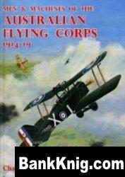 Книга Men & Machines of the Australian Flying Corps, 1914-19