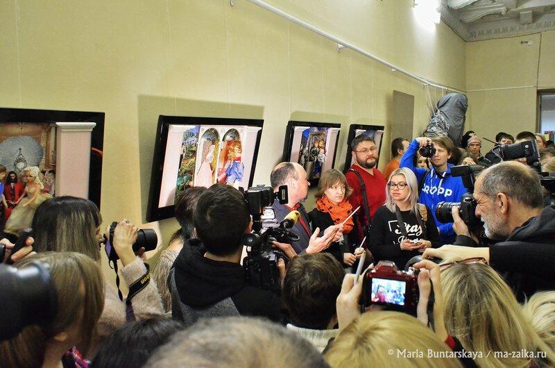 Открытие галереи ИМХО, Саратов, 13 января 2015 года