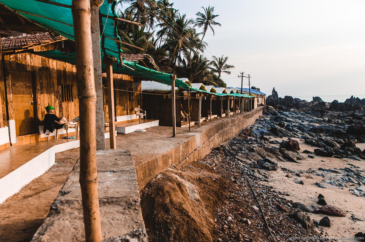 Бунгало с видом на море, Гоа, Арамболь