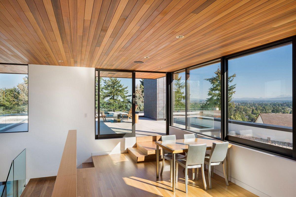 Hennebery Eddy Architects, частные дома в Портленде, американские дома фото, ASH + ASH, план дома, обзор частного дома, планировка частного дома фото