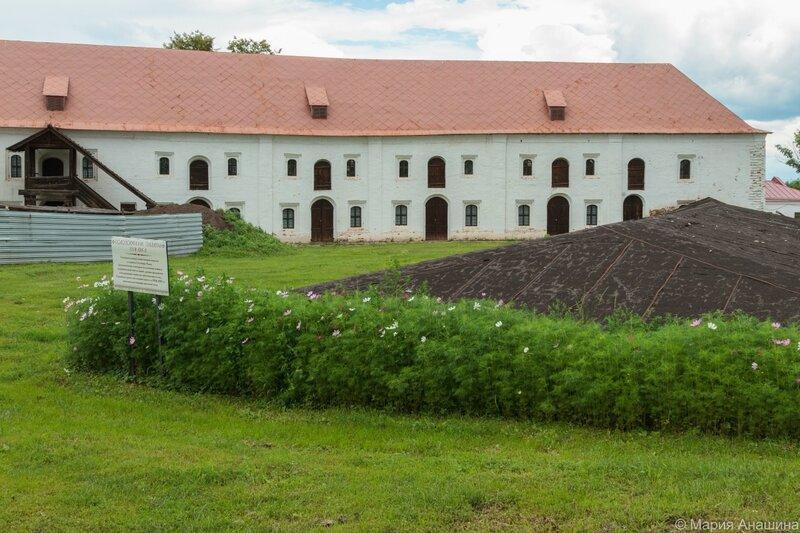 Гостиница Черни и фундамент «Солодовенных палат», Рязанский кремль