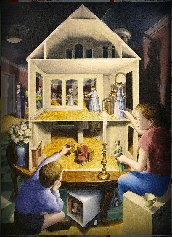 Магический реализм-сюрреализм Роба Гонсалвеса (8).JPG