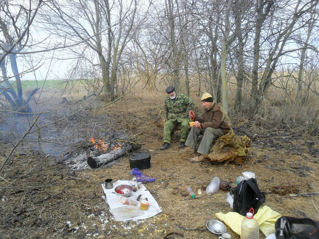 На Природе, туризм, Приморско-Ахтарский район, фото, зима
