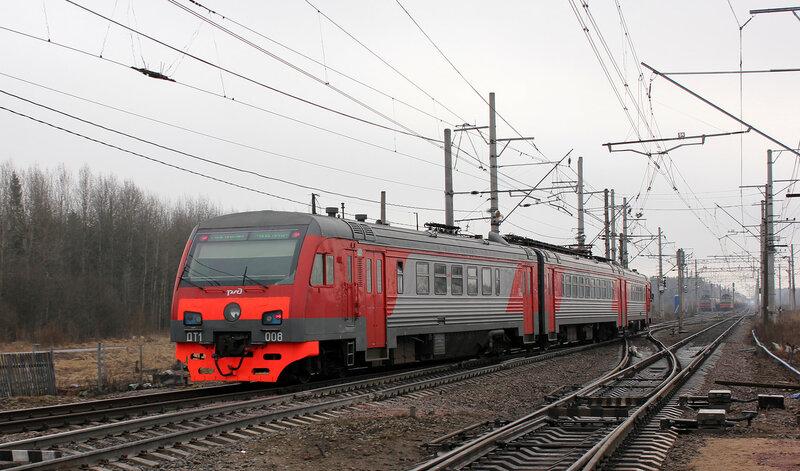 ДТ1-008 на станции Новолисино