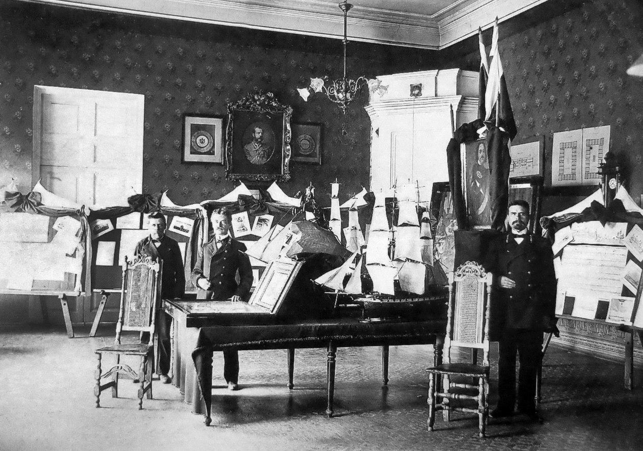 На Петровской выставке 30 июня 1909