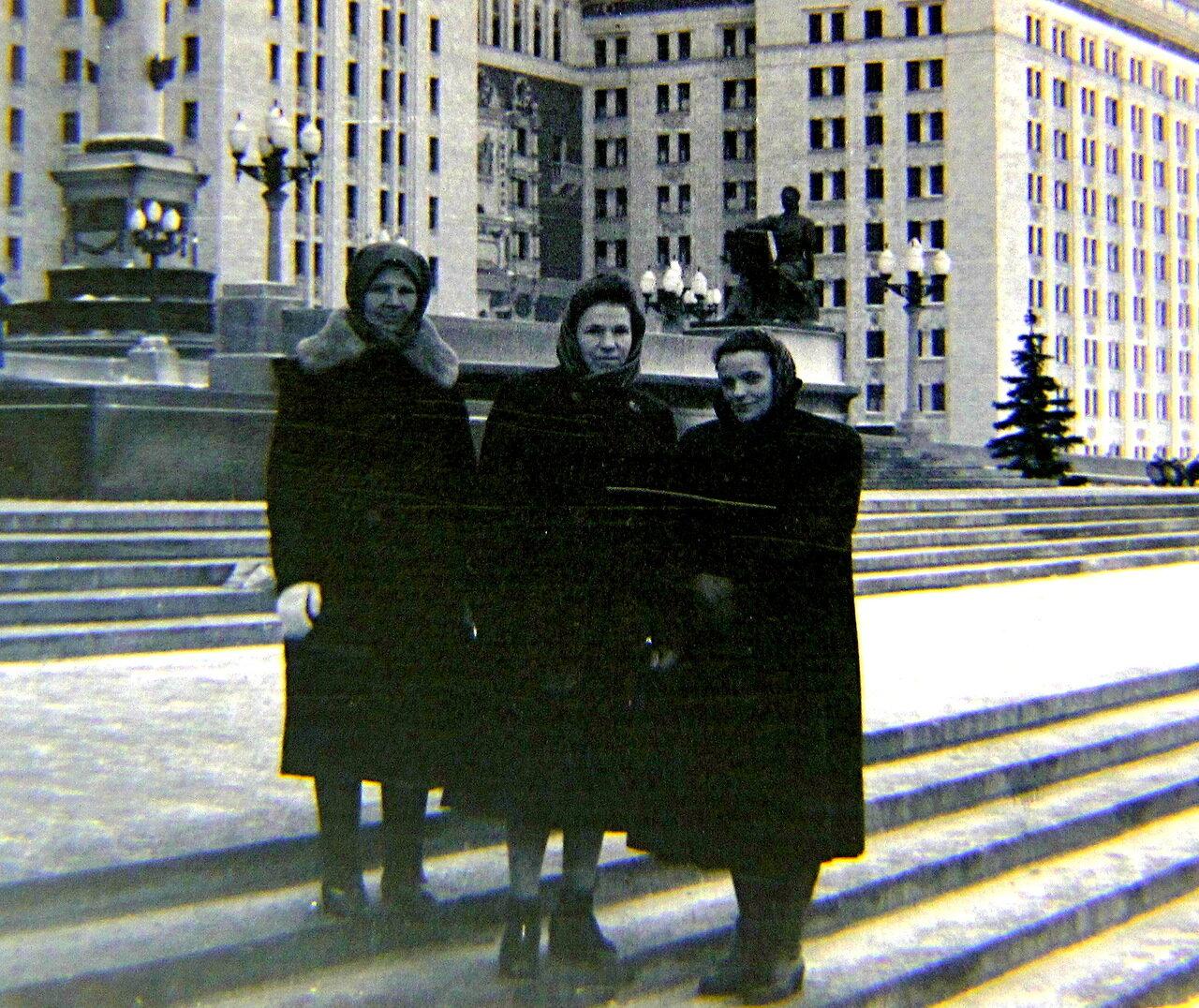 120. 1958. МГУ на Ленинских горах