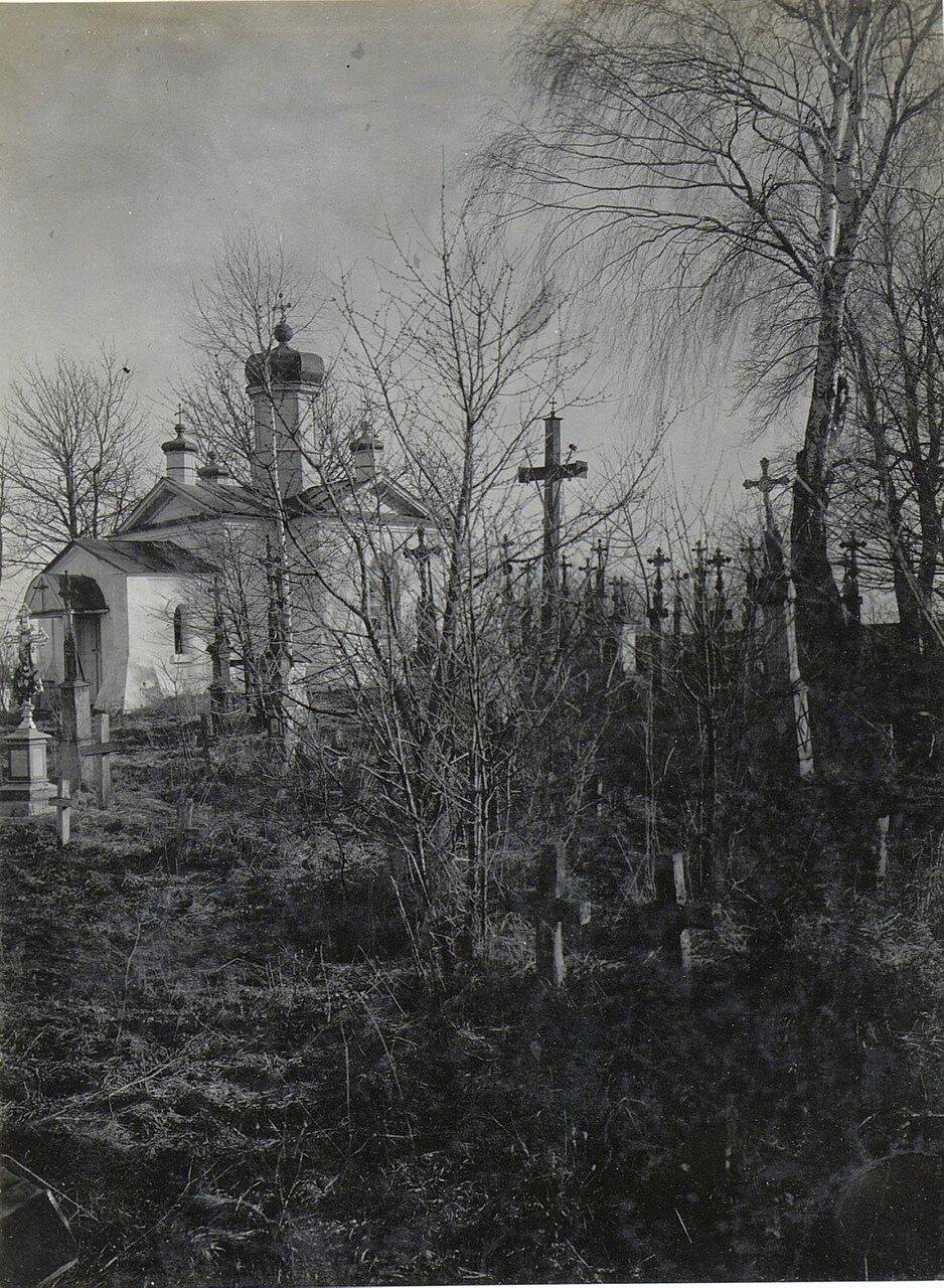 Микуличи. Часовня при кладбище.1918.