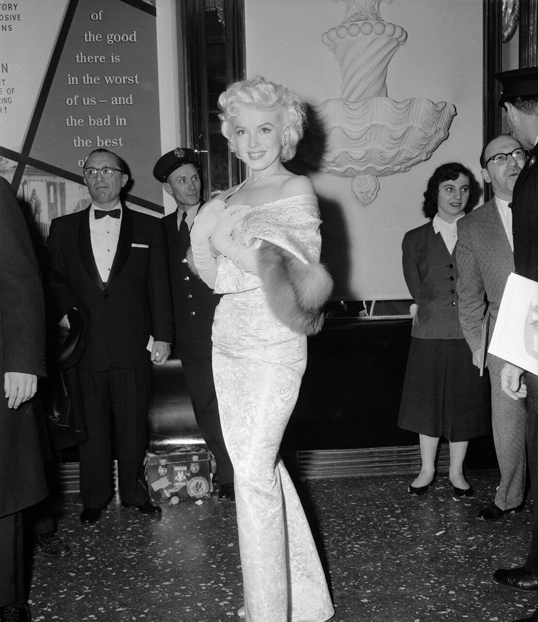 Marilyn Monroe at Movie Premiere