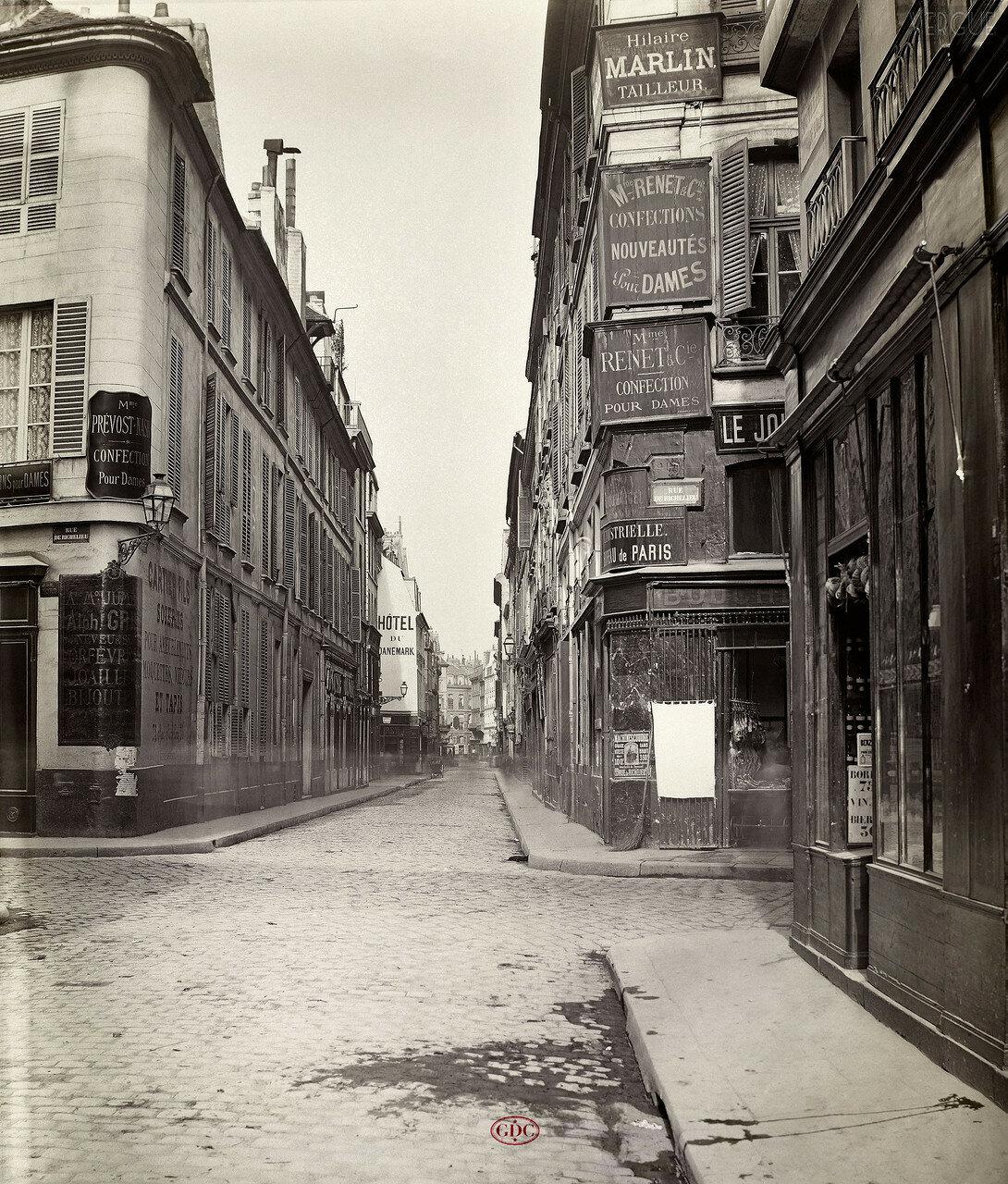 Новая улица Святого Августина. 1866