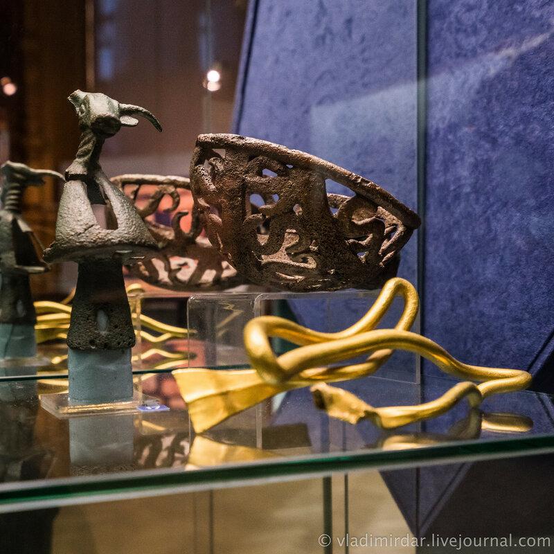 Выставка Золото потомков Геракла, Народы Прикубанья в VI в. до н.э. – III в. н.э.