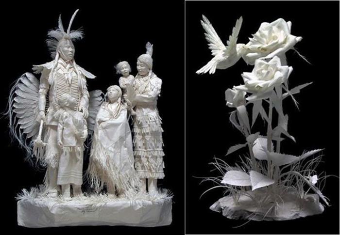 Удивительные скульптуры из бумажной массы 0 115b74 b36a7e9 orig