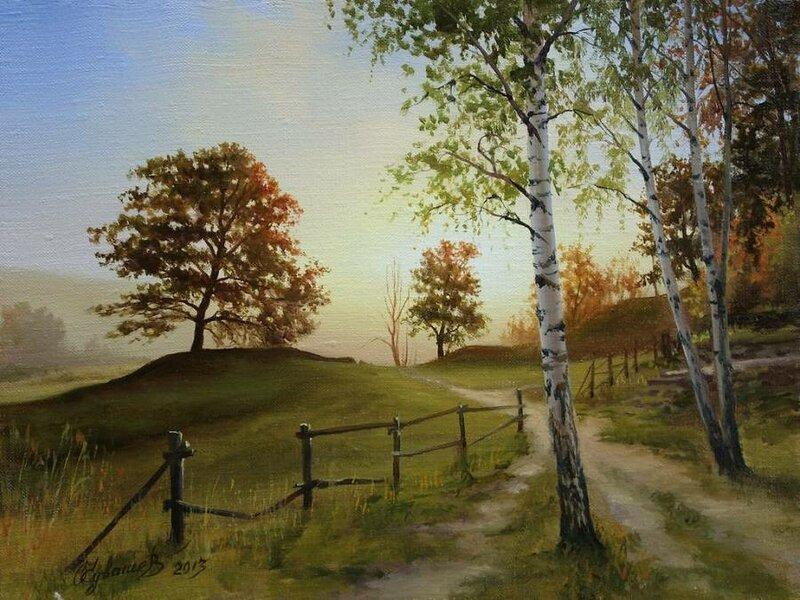 Белорусский художник Олег Чувашев. Нежные пейзажи и натюрморты 0 1110cc 1ec8293 XL