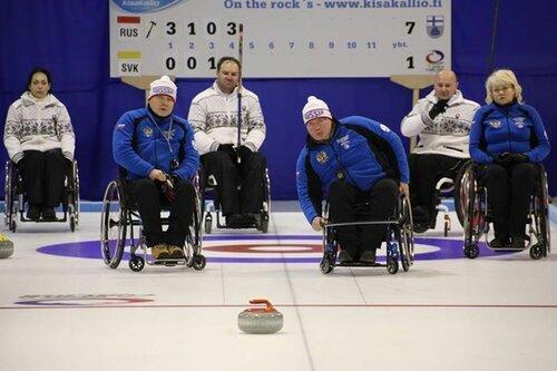 Свердловские керлингисты на колясках вновь чемпионы мира