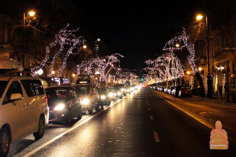 Новогодний Будапешт - фото