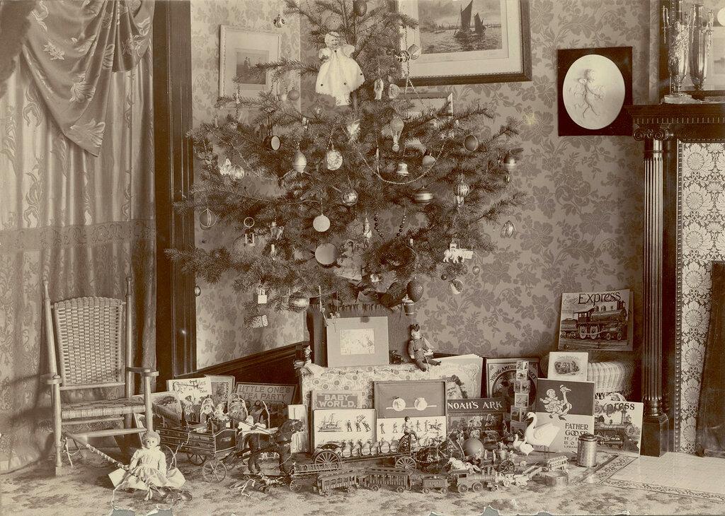 Christmas tree, Denver, Colorado,1900