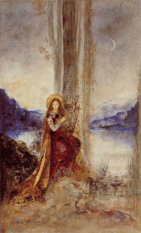 Густав Моро. Вечер. 1887