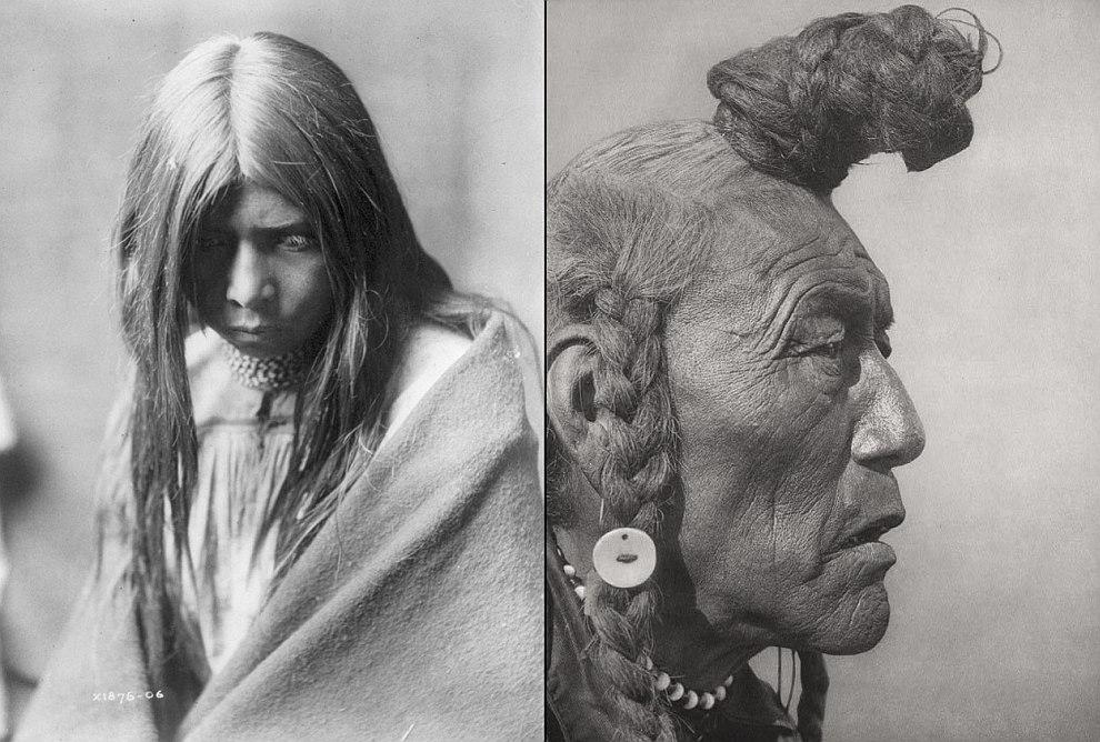 Индеец из племени на северо-западе Аляски, 1929. (Фото Library of Congress | Edward S. Curtis):
