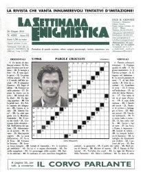 Журнал La Settimana Enigmistica № 4292