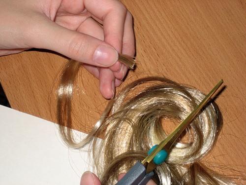 Изготовление париков из натуральных волос своими руками