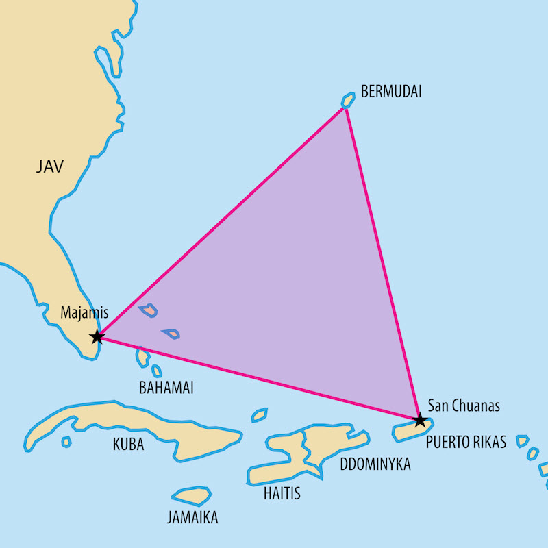 О Бермудском треугольнике