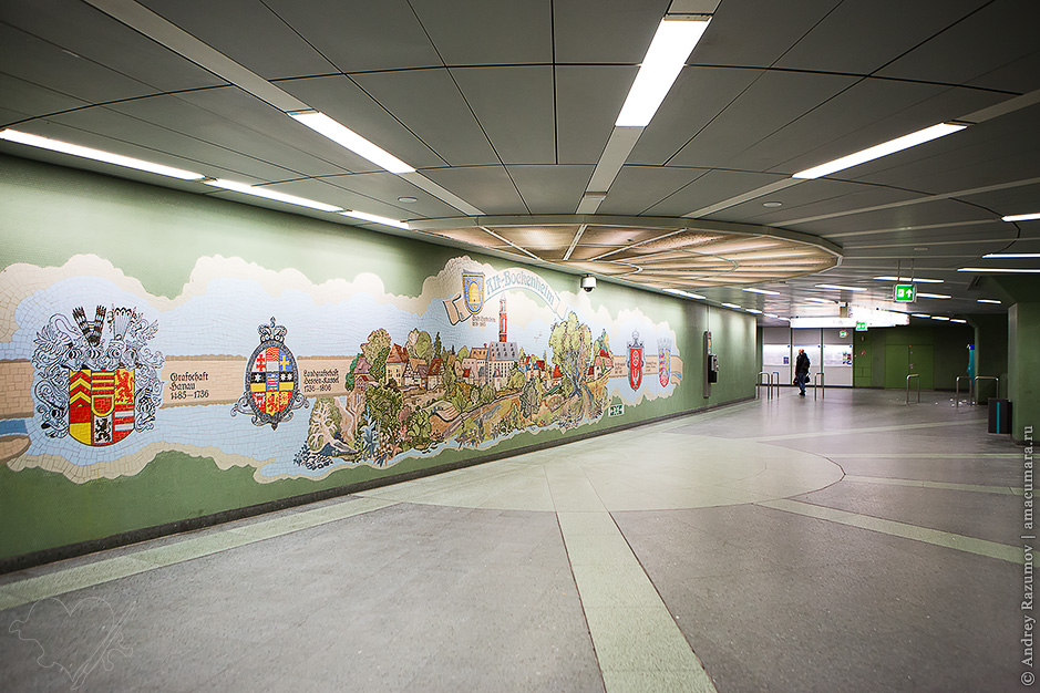 метро Франкфурта-на-Майне